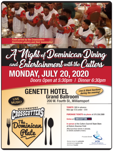 aces dominican plate dinner